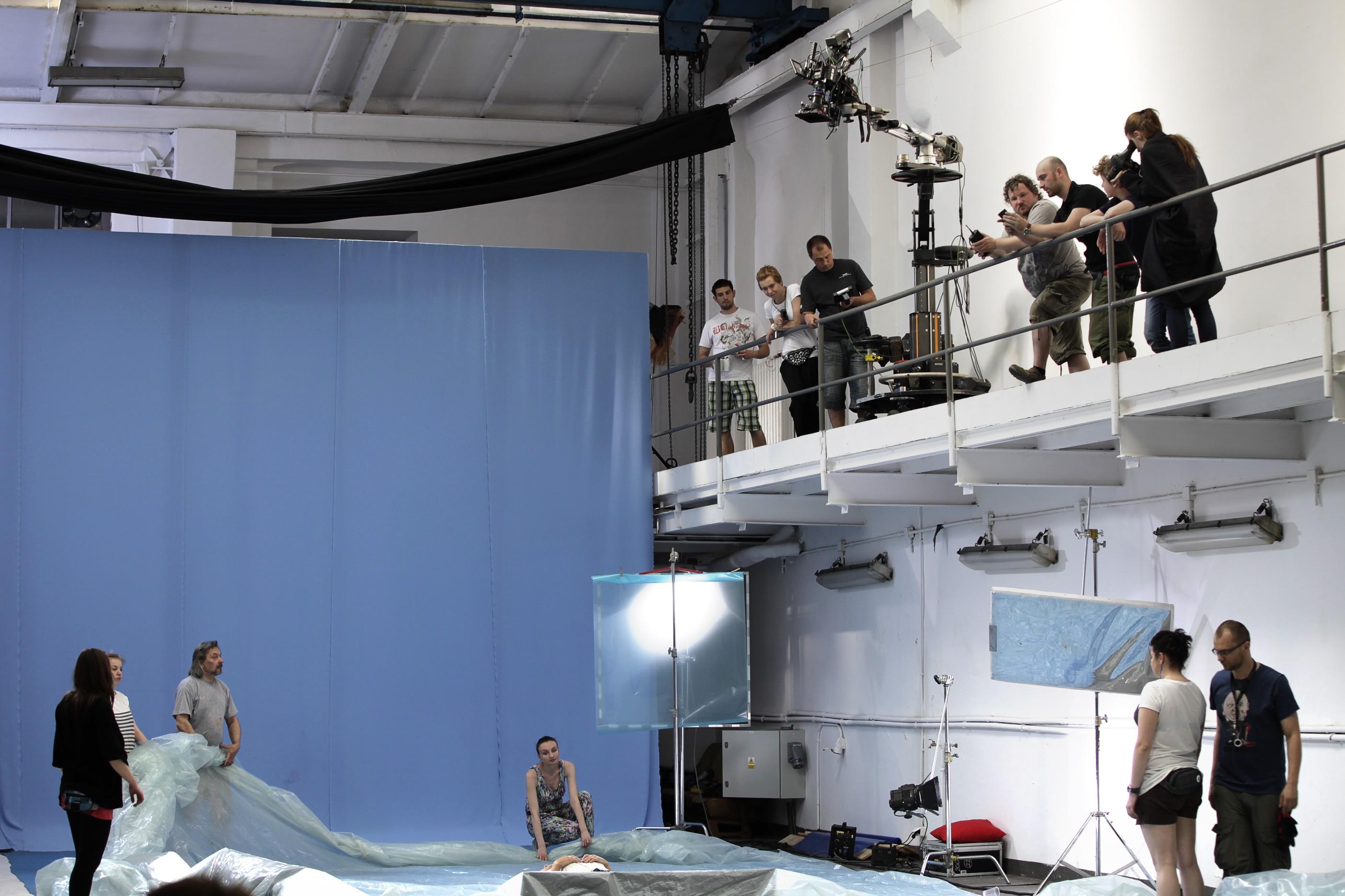 Plan filmu - jak gleboki jest ocean - rezyseria Filip Syczynski - maj 2012